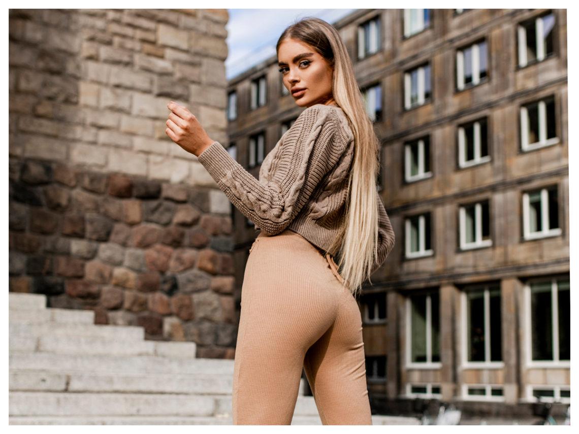 Ocieplane legginsy damskie modelujące sylwetkę